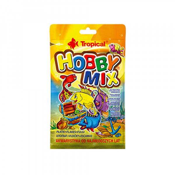 TROPICAL Hobby Mix - pokarm dla rybek 12g