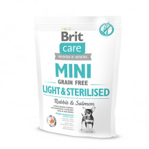 BRIT Care Mini Grain Free Light & Sterilised - sucha karma dla psa