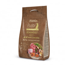 FITMIN Dog Purity Rice Semimoist Rabbit & Lamb - karma dla psa