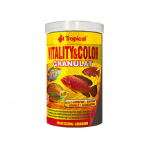 TROPICAL Vitality & Color - pokarm dla rybek granulat 100ml