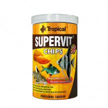 TROPICAL Supervit Chips - pokarm dla rybek 100ml