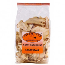 HERBAL PETS - chipsy naturalne z pasternaka 125g