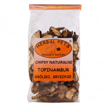 HERBAL PETS - chipsy naturalne z topinambura 75g