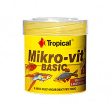 TROPICAL Mikrovit Basic - pokarm dla narybku 50ml