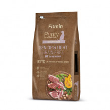 FITMIN Dog Purity Grain Free Senior & Light Lamb - karma dla psa 2kg