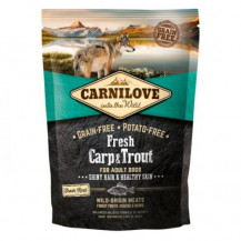 CARNILOVE Fresh Carp Trout For Adult - sucha karma dla psa