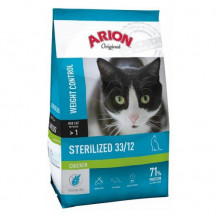ARION Original Cat Sterilised Chicken - sucha karma dla kota 7,5kg