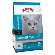 ARION Original Cat Sterilised Salmon - sucha karma dla kota 7,5kg