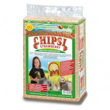 CHIPSI Strawberry - trociny o zapachu truskawek 15l