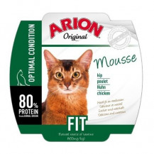 ARION Original Cat Mousse Fit - mokra karma dla kota - szalka 70g