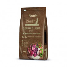 FITMIN Dog Purity Rice Senior & Light Venison & Lamb - sucha karma dla psa 2kg