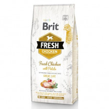 BRIT Fresh Chicken With Potato Adult Great Life - sucha karma dla psa