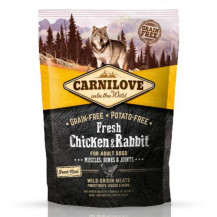 CARNILOVE Fresh Chicken & Rabbit For Adult - sucha karma dla psa