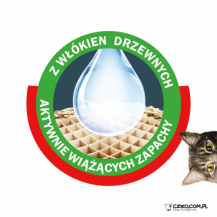 CAT'S Best Eco Plus Original - żwirek zbrylający