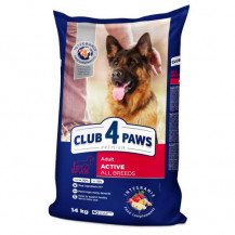 CLUB 4 PAWS Active All Breeds - sucha karma dla psa 14kg