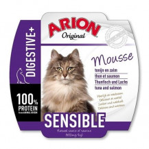 ARION Original Cat Mousse Sensible - mokra karma dla kota - szalka 70g