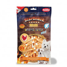 NOBBY Starsnack - Puppy&Small Wrapped Chicken 113g