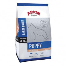 ARION Original Puppy Large Salmon & Rice - sucha karma dla psa 12kg+2kg