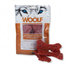 BRIT WOOLF Snack Beef Bone Of Duck&Carrot - przysmak dla psa 100g