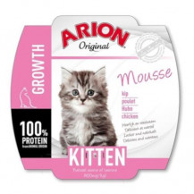 ARION Original Cat Mousse Kitten - mokra karma dla kota - szalka 70g