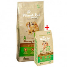 PLANET PET Society Adult Chicken - sucha karma dla psa + 3kg GRATIS