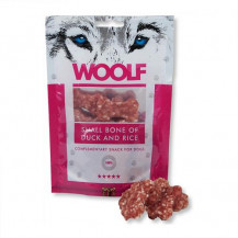 BRIT WOOLF Snack Small Bone Of Duck&Rice - przysmak dla psa 100g
