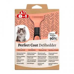 8in1 Perfect Coat DeSheeder Cat - zgrzebło dla kota