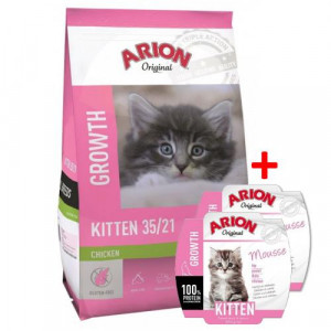 ARION Original Cat Kitten - sucha karma dla kota